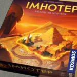 シンプルで奥深い戦略とジレンマ「インホテップ(イムホテップ)/Imhotep」