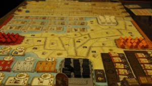 アフリカ貿易ボードゲーム「モンバサ/Mombasa」 巧みに噛み合う豊富なメカニクス!